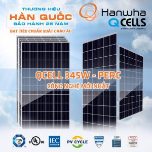 Pin Năng Lượng Mặt Trời Hanwha Q-Cell 370