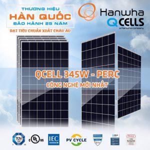 Pin Mặt Trời HANWHA Q-CELL 345W