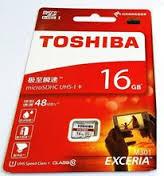 TOSHIBA MICRO SD 16GB