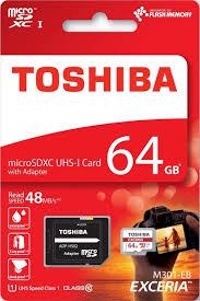 TOSHIBA MICRO SD 64GB