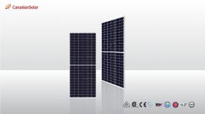 Pin năng lượng mặt trời Canadian mono CS3U 390W