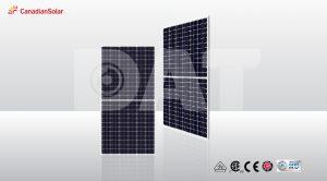 Pin năng lượng mặt trời Canadian Mono Hiku CS3W 435W